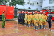 Tập huấn công tác PCCC tại Bệnh viện Đa khoa tỉnh An Giang