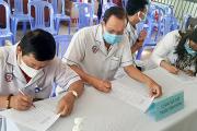 Tiêm vắc xin cúm mùa cho nhân viên y tế tại bệnh viện đa khoa khu vực tỉnh An Giang năm 2020