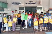 Chương trình tặng quà cho các bệnh nhân có hoàn cảnh đặc biệt khó khăn tại bệnh viện ĐKKV tỉnh An Giang